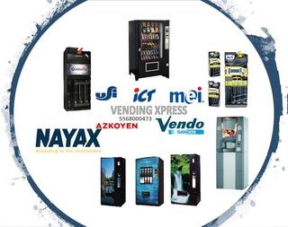 Refacciones Para Maquinas Expendedoras Vending