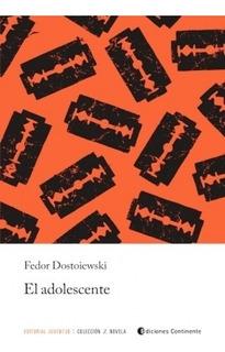El Adolescente, Fedor Dostoiewski, Juventud