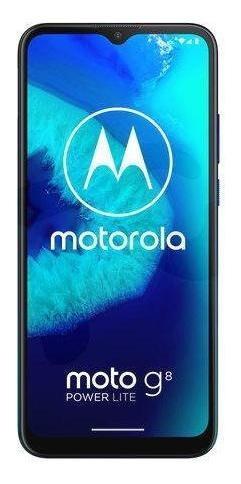 Smartphone Motorola G8 Power Lite 64gb 4gb Azul