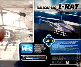 Helicoptero A Control Remoto Revel L-ray
