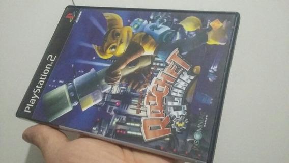 Jogo Ps2 Ratchet Clank Importado Quase Novo Veja Fotos