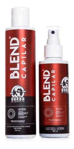 Kit Tratamento Antiqueda Blend Capilar - Barba De Respeito