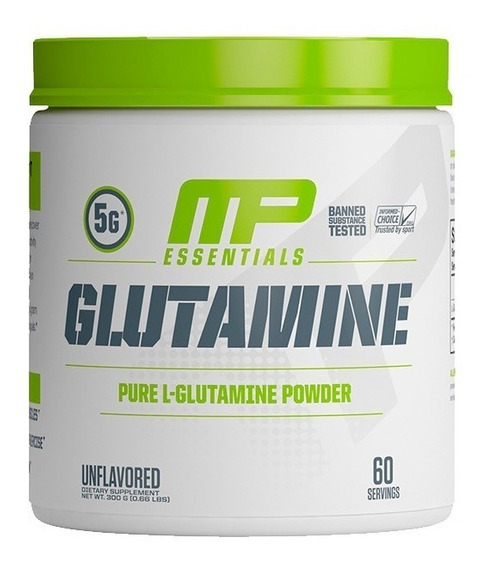 Glutamina Musclepharm Essentials (300 Gramos) 60 Servicios