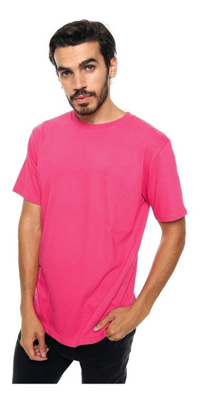 Remera Lisa 100% Algodon Varios Colores Slim Fit