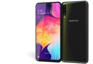 Teléfono Samsung Galaxy A50 4gbx64g Negro Tienda Fisica