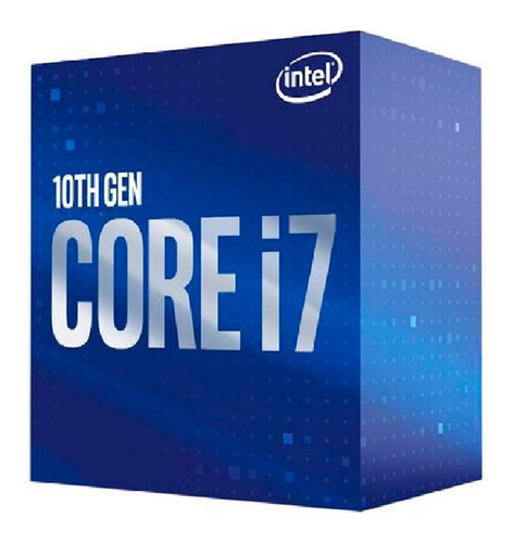 Imagen 1 de 6 de Procesador Intel Core I7 10700 Cometlake 10ma Gen