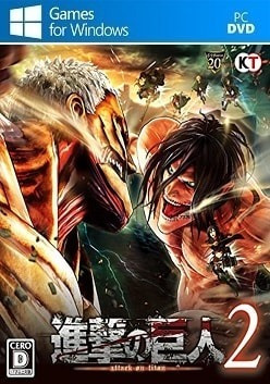 Attack On Titan 2 (mídia Física) Pc - Dvd