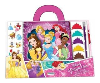 Princesa Maletin Didactico Colorear New Dju17569 Bigshop