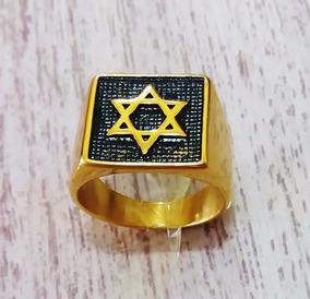 Anel Estrela De Davi (magen Davi) Profético Apostólico