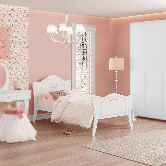 Cama Infantil Juvenil Princesa Encantada Clean Pura Magia