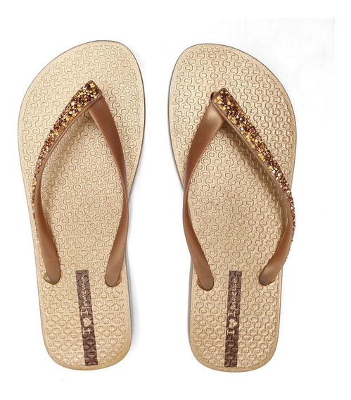Sandália Grendene Ipanema Glam Special Dourado/ouro 26149