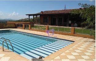 Chácara Com 3 Dormitórios À Venda, 12500 M² Por R$ 2.500.000,00 - Porta Do Sol - São Roque/sp - Ch0088