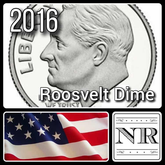 Dime 2016 P - 10 Cent Dolar - Eeuu - Roosvelt