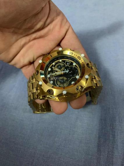 Invicta (relógio Grande Usado Uma Vez)