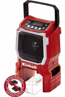 Radio Inalambrica Einhell Te-cr 18v Solo Auxiliar Mp3 Am Fm