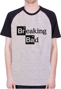 Camisas Raglan Séries - Breaking Bad - 100% Algodão!!