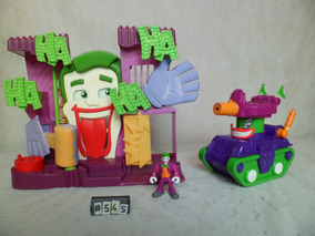 Fortaleza Do Coringa Imaginext Brinquedo Infantil #545