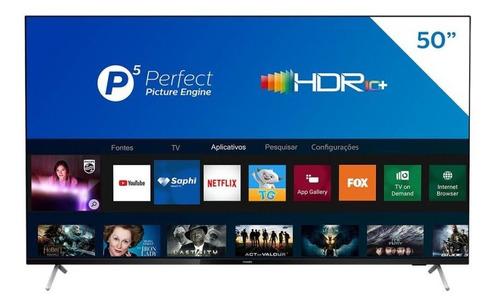 Smart Tv Philips 50 Polegadas 4k Uhd 50pug7625/78