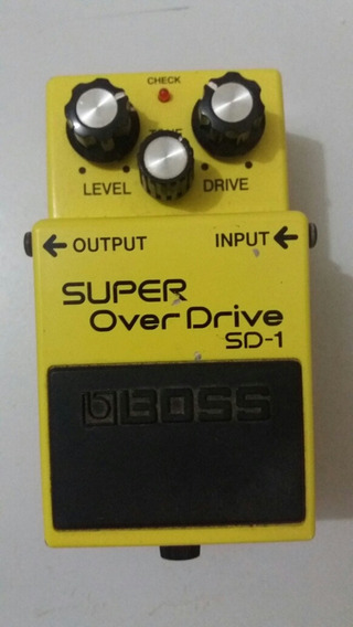 Boss Sd-1 Overdrive Pedal