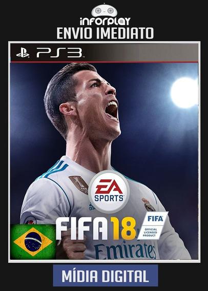 Fifa 18 Portugues Ps3 Psn Envio Imediato