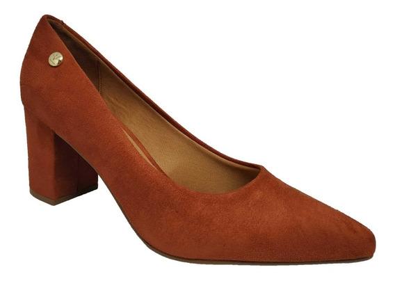 Sapato Feminino Bico Fino Salto Grosso Vizzano 1290.400