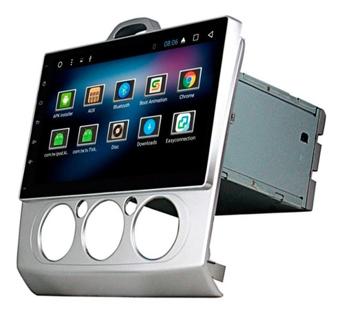 Imagen 1 de 5 de Estereo P Ford Focus Android Wifi Gps Bluetooth Touch 9' Hi