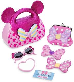 Set De Actividades Minnie Mouse Bolso Con Accesorios Disney