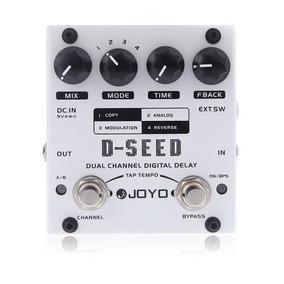 Pedal Guitarra Joyo D-seed Dual Channel(pronta Entrega)