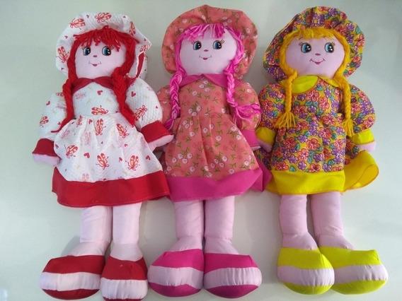 10boneca De Pano 60cm,atacado.meninas,bebê,decoração.