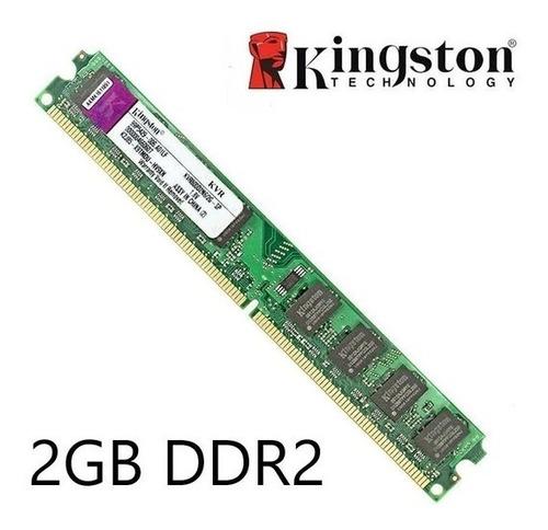 Imagen 1 de 1 de Memoria Ram 2gb Ddr2 800mhz Kingston Original. Selladas