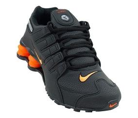 online store 238af 00431 Tênis Masculino Feminino Nike Shox Nz Original Na Cx +frete