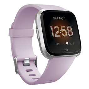 Smartwatch Fitbit Versa Lite Aluminum Lila Y Plata