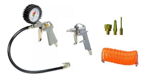 Juego Kit Accesorios Para Compresor Stanley 6 Piezas 717stc