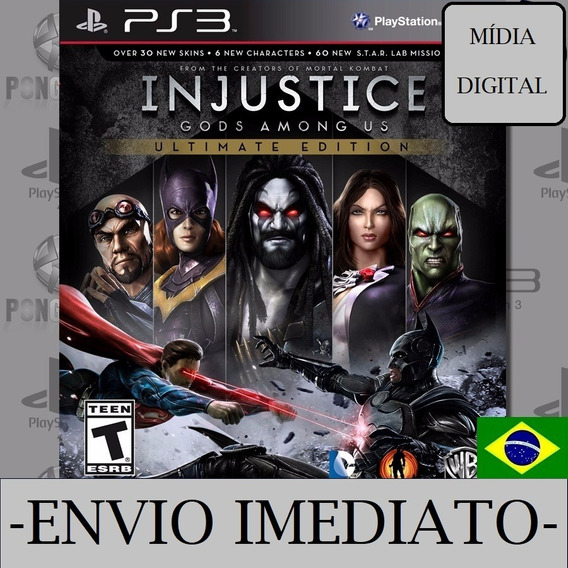 Injustice Gods Among Us Ps3 Psn Digital Envio Imediato