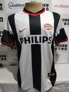 Camisa Psv Away 1998-99 V. Nistelrooy 8 Champions À P/ Ent