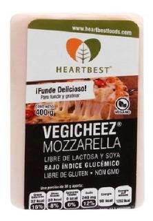 1.200 Kg Queso Mozzarella En Barra Vegicheez Sin Lactosa