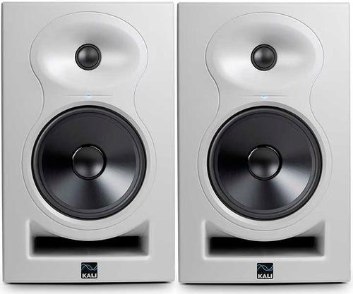 Monitores Activos Kali Audio Lp6wh 80w El Par Blancos Cuotas