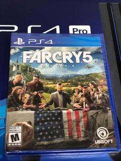 Farcry 5 Ps4 ( Sellado ) Envíos Gratis Rápido A Todo Chile