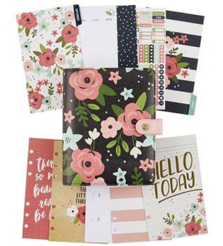 Simple Stories - Planner Carpe Diem - Black Blossom