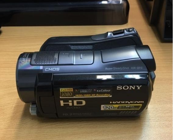 Filmadora Sony Com Visão Noturna Uso Profissional Caça