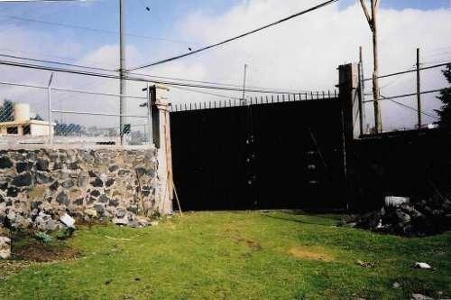 Terreno Plano En Venta San Miguel Ajusco