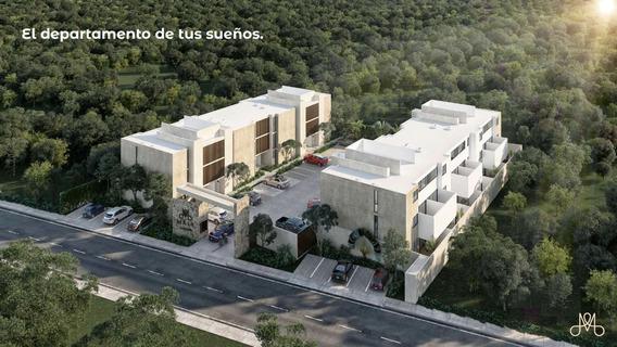 Departamentos En Preventa En Mérida, Maia Temozon Norte Mod Planta Baja