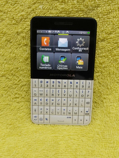 Celular Motorola Ex-119, 2 Sim Wifi, Touchscreen, Camera