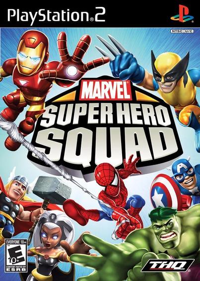 Marvel Super Hero Squad (lego Rom) Play2 Aproveite