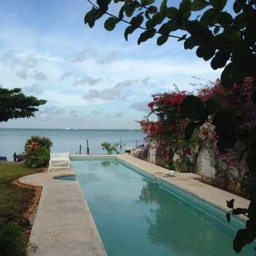 Terreno En Venta Frente A Laguna En Zona Hotelera De Cancun