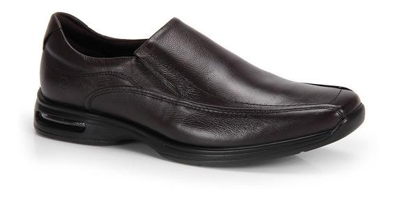 Sapato Conforto Masculino Democrata Air Stretch Spot