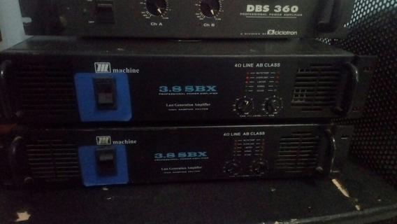 Amplificador Machine 3.8sbx
