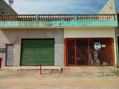 2 Casas,garagem E Salão Comercial