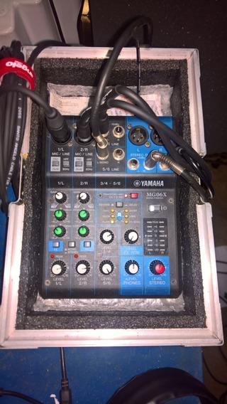 Mesa Yamaha Mg06x. Bem Conservada, Com Hard Case