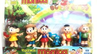 Kit Bonecos Turma Da Monica